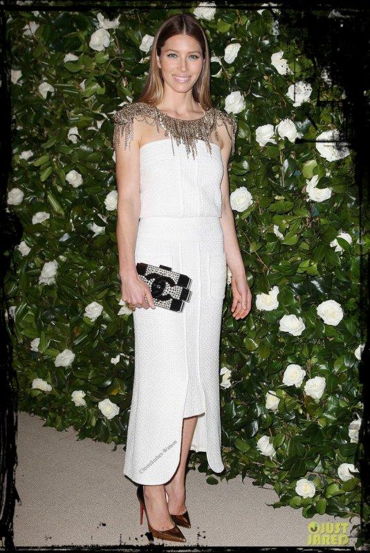 Le 05.11.13 : Jessica était au MoMA Film Benefit en l'honneur de l'actrice Tilda Swinton à New-York...