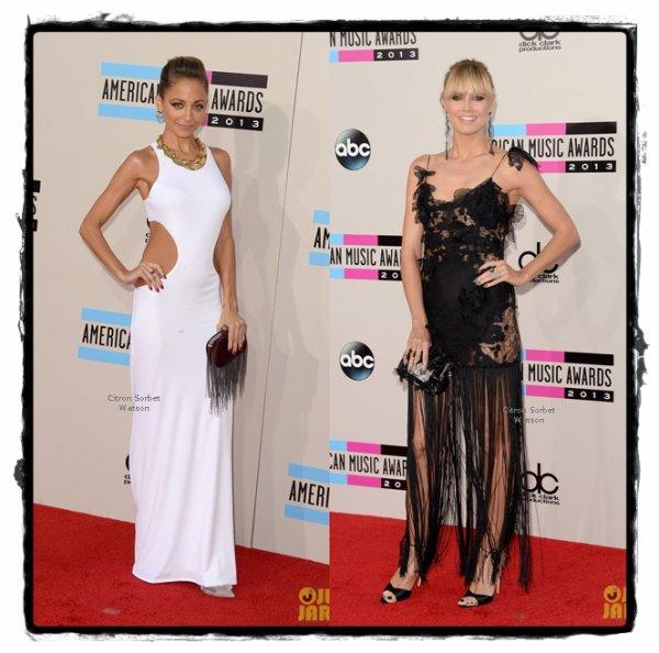 Heidi Klum et Nicole Richie...