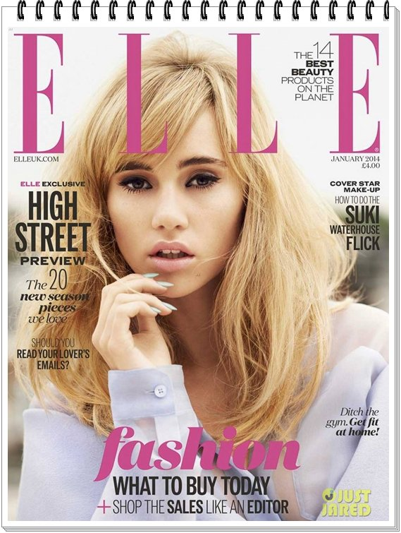 Suki Waterhouse...