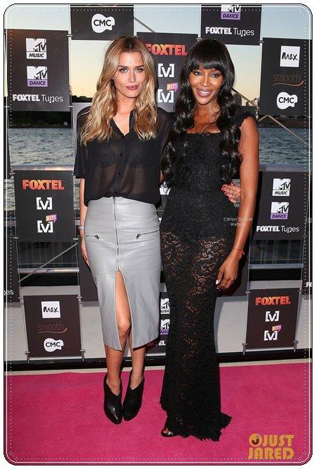 Naomi Campbell et une personne dont je ne connais pas le nom...