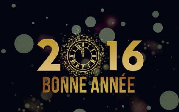 Une nouvelle année 2016