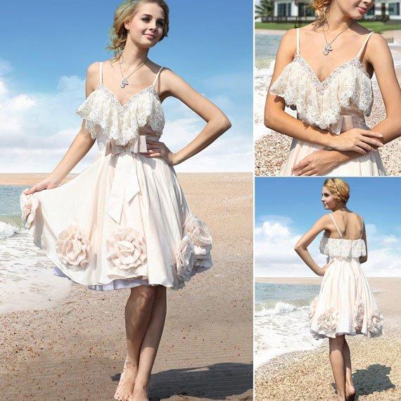 Dresses For Beach Wedding Ceremony: Organize A Good Solid Beach Wedding Ceremony And Party