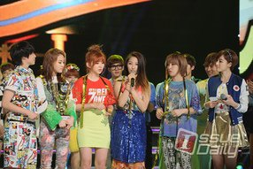 4MINUTE ShowChampion WINNER ( sans Hyun A)