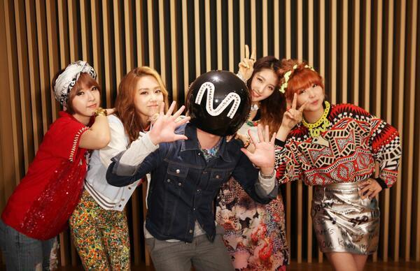 Performance de 4Minute au M!Countdown du 9 mai + victoire