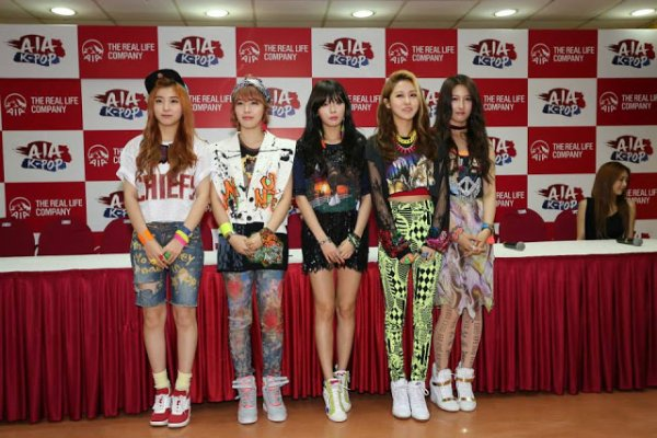 4MINUTE AIA CONCERT IN MALAYSIA