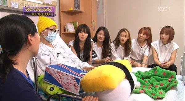 4MINUTE dans KBS Love Request