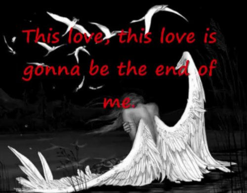 End of me...
