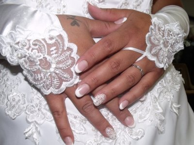 Pose mariage nathalie excepti 39 ongles for Comdecoration pour ongles naturel