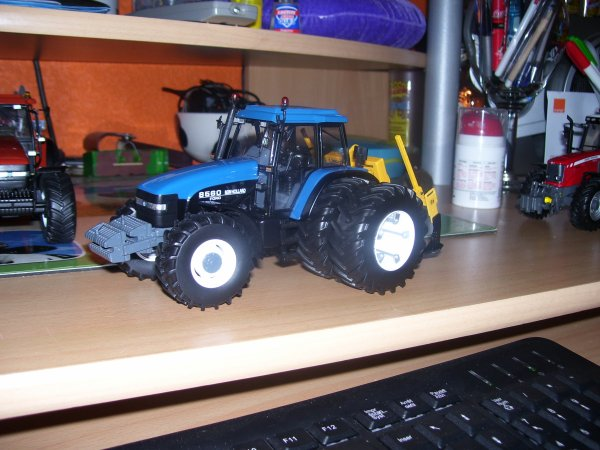 NEw holland 8560 decompacteur