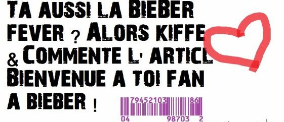 Bieber Fever ❤