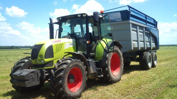 2eme coupe d'ensilage de ray-grass 2013