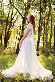 Choose Plus Size Wedding Dress for Pear Shape
