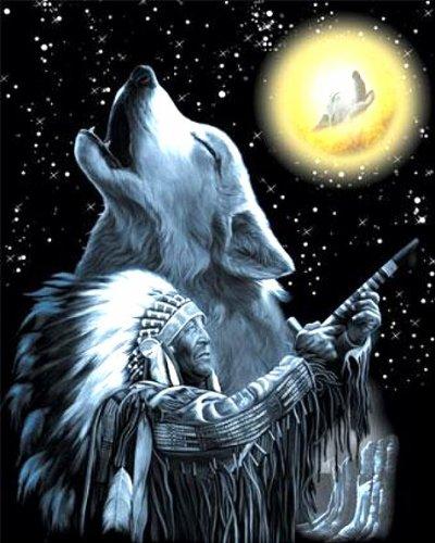 Un jour, un Amérindien