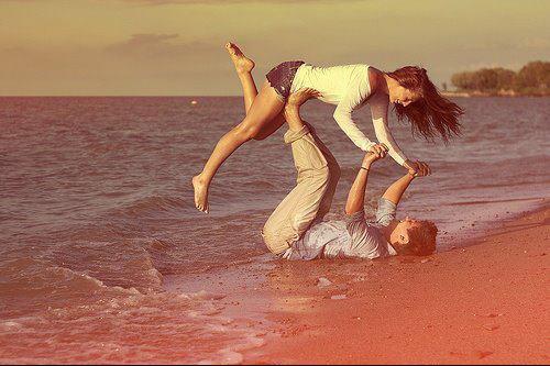 « Je t'aime pour ce que tu es, et pour ce que je suis quand tu es avec moi. »