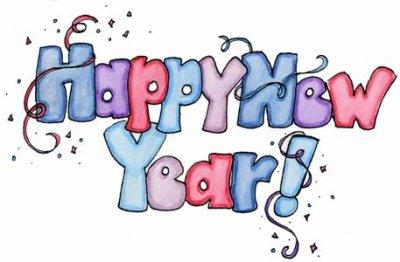 Happy New Year ! Bonne année ! ...