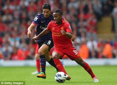 Raheem STERLING (Angleterre / Liverpool, ANG)