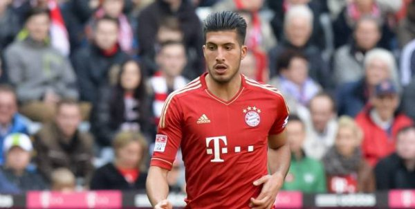 Emre CAN (Allemagne U19 / Bayern Munich, ALL)