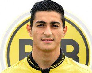 Koray GUNTER (Allemagne U19 / Borussia Dortmund, ALL)