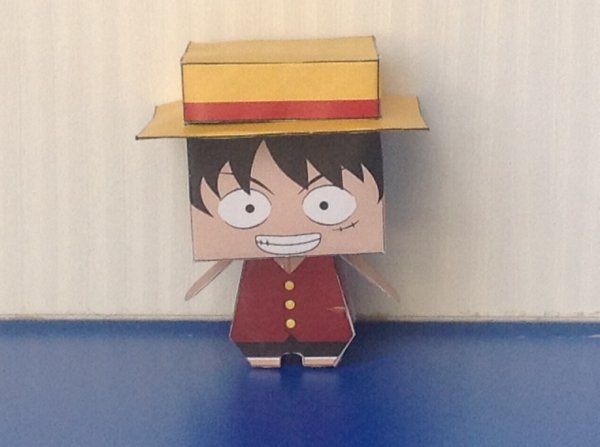 Cubeecraft Luffy!