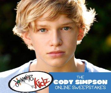 Objets à gagner singné par Cody Simpson ! + Cody Simpson classer dans les plus aimer comme : Miley , Justin , Taylor ,ect.. !  + Video