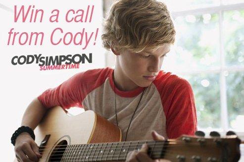 Passe un joyeux Cody halloween  et gagne des bonbons+ Gagne un appel personnel de Cody Simpson en personne + Cody à Gold Coast