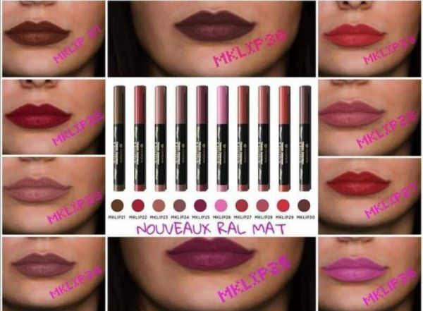Magnifique ses rouges à lèvres