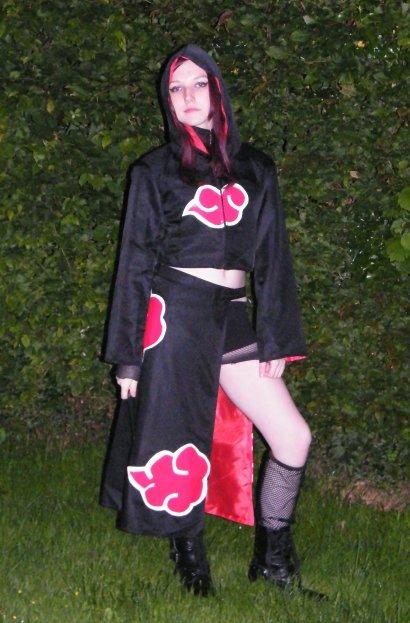 Quelque photos de mon cosplay, presque complet, Akatsuki ! :3