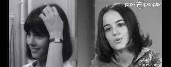 Alizée : Parfait sosie de Chantal Goya, jeune !