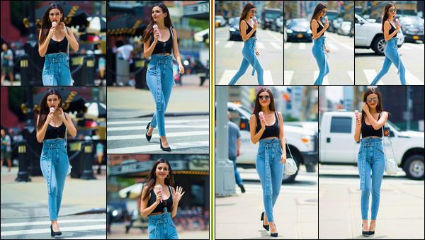 - -• 22/06/18-': Notre Vicky Justice a été aperçue se promenant dans les très célèbres rues de New-York City ! C'est dans une superbe tenue que nous retrouvons notre Victoria, glace à la main, toujours aussi radieuse qu'à son habitude. Un bon top ! -