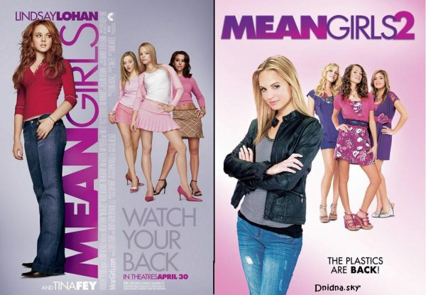 Mean gils Vs mean girls2
