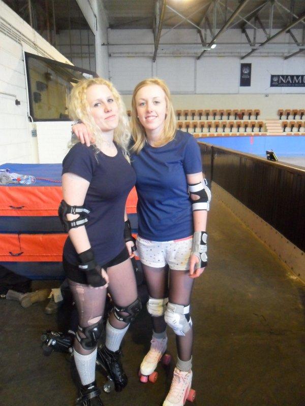 Capitaine de l'équipe de roller derby namuroise :  NAMUR ROLLER GIRLS !