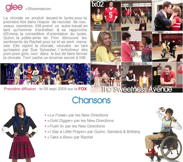 """Glee - 1x02 """"Showmance"""""""