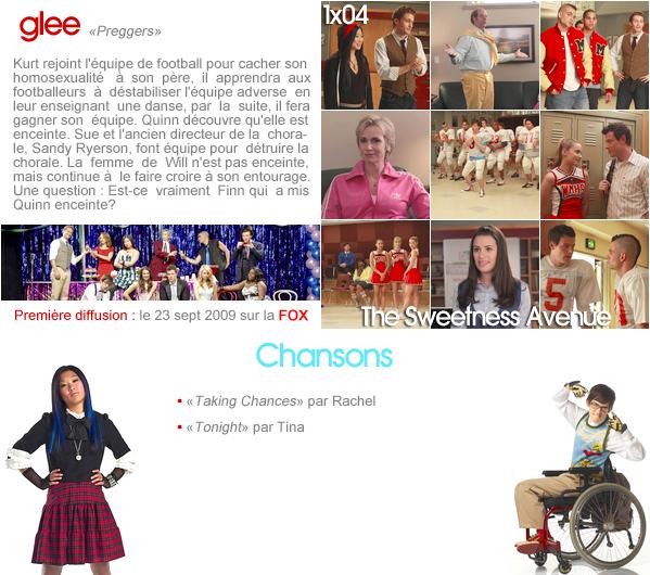 "Glee - 1x04 ""Preggers"""