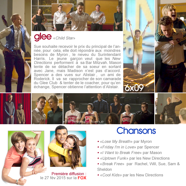 "Glee - 6x09 ""Child Star"""