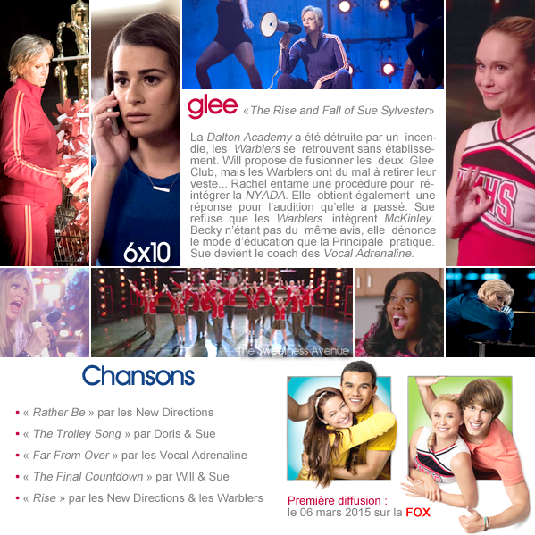 "Glee - 6x10 ""The Rise and Fall of Sue Sylvester"""