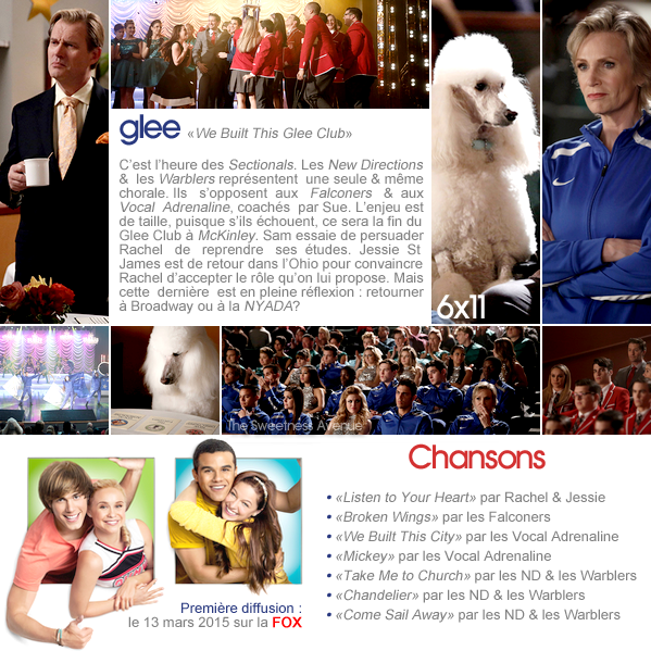 "Glee - 6x11 ""We Built This Glee Club"""