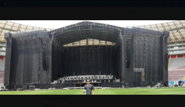 April 21, 14 - Estadio Nacional, Lima, Peru