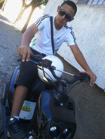 Moi et mon scooter