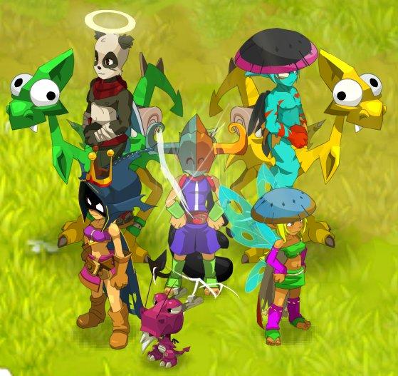 Dofus- Bidule's team