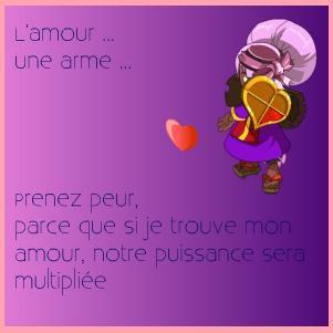 L'amour sur Dofus.