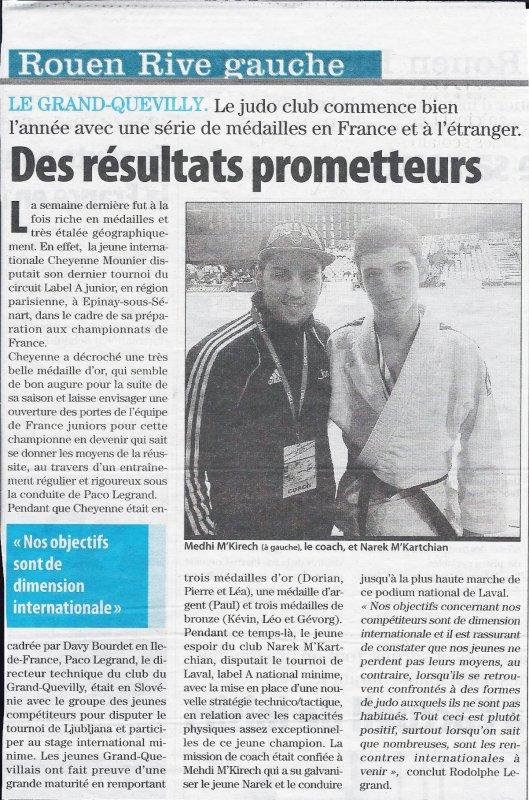 Mehdi coach de Judo à Grand-Quevilly
