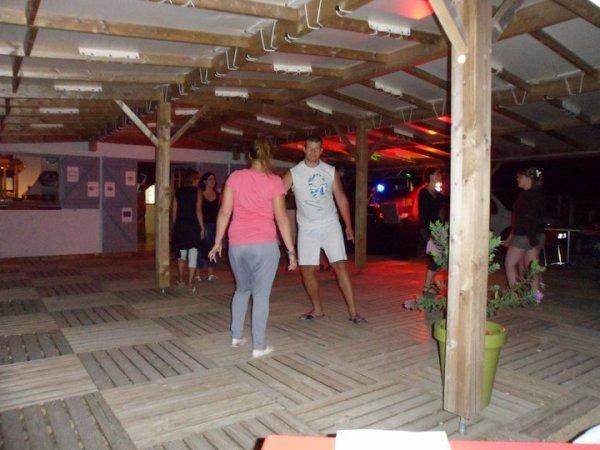moi et ma soeur en soirer disco