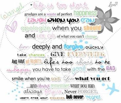 ♥♥♥♥♥♥ des conseilles pour avoir une belle vie♥♥♥♥♥♥