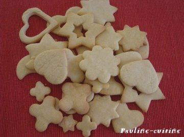Les biscuits sablés