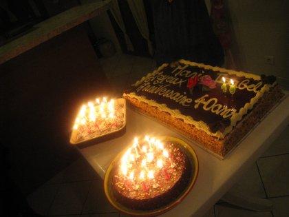 C'est mon anniversaire (Maria Isabel, la maman)