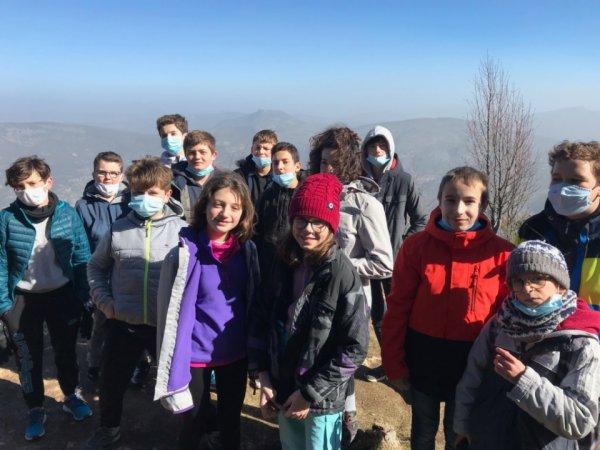 Grand jeu dans les bois...Mont Serein Février 2021