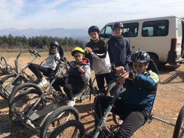 Initiation QuadBike et découverte de la montagne de Chabre Février 2021