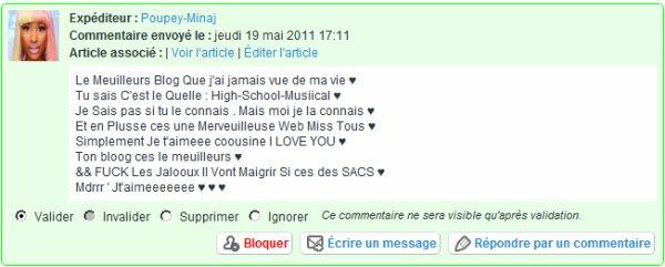 ♥ # . Des commentaires Qui me Font Chaud Au Coeur . # ♥