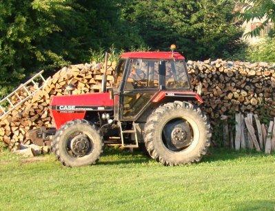 le tracteur de mon oncle