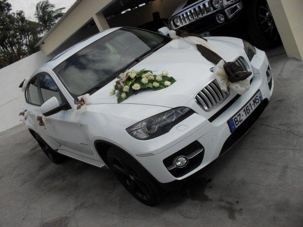 decoration voiture mariage 4×4